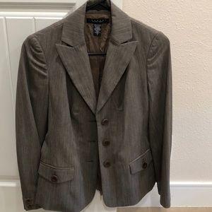 Stripped blazer